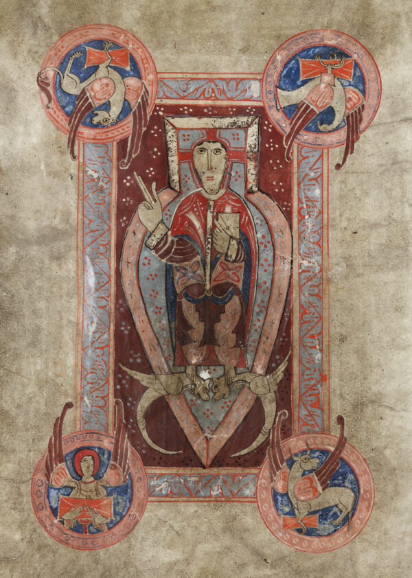 En av illuminationerna på pergament.