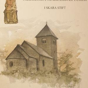 En medeltida kyrka och en Mariskulptur i trä.