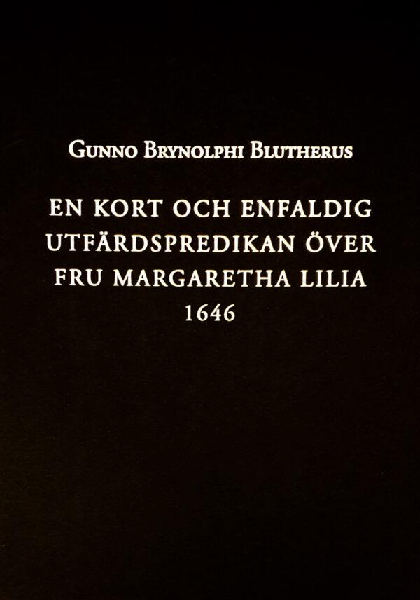 Ett svart bokomslag med guldtext.